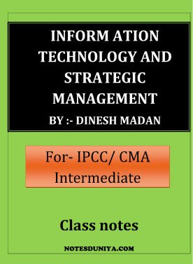 Information Technology Notes Ipcc