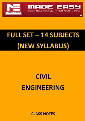 CIVIL ENGINEERING FULL SET MADE EASY CLASS NOTES