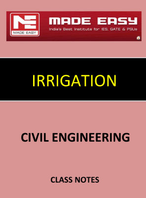 IRRIGATION MADE EASY CLASS NOTES