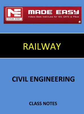 TRANSPORTATION RAILWAY MADE EASY CLASS NOTES