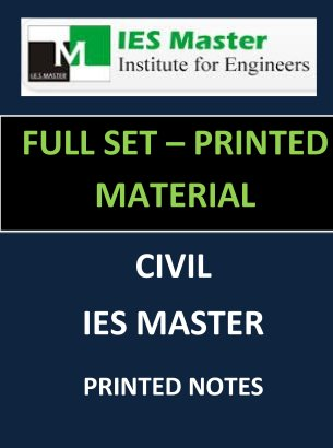 IES MASTER PRINTED NOTES FULL SET GATE IES PSUs