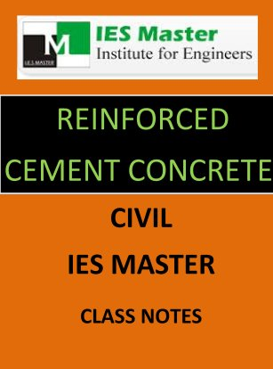 RCC IES MASTER CLASS NOTES GATE IES PSUs