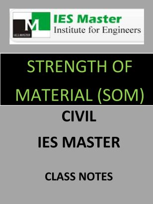 SOM IES MASTER CLASS NOTES GATE IES PSUs