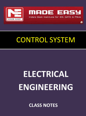 CONTROL SYSTEM MADE EASY CLASS NOTES for IES GATE IAS PSUs