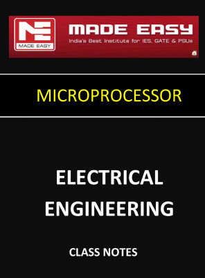 MICROPROCESSOR MADE EASY CLASS NOTES for IES GATE IAS PSUs