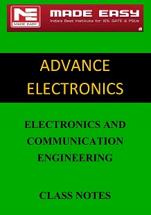 ADVANCE ELECTRONICS MADE EASY CLASS NOTES