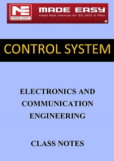 CONTROL SYSTEM MADE EASY CLASS NOTES