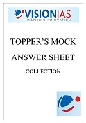 TOPPERS MOCK ANSWER SHEET COLLECTION VISION