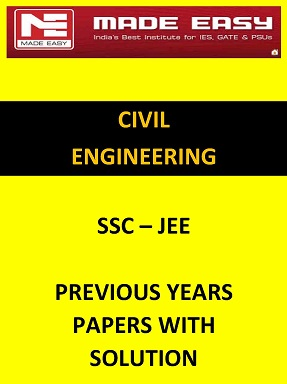 CIVIL SSC JEE PREVIOUS YEARS QUESTION PAPER WITH SOLUTION