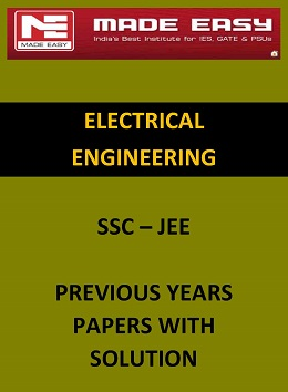 ELECTRICAL ENGINEERING SSC JEE PREVIOUS YEARS QUESTION PAPER WITH SOLUTION