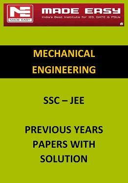 SSC MECHANICAL PREVIOUS YEARS QUESTION PAPER WITH SOLUTION