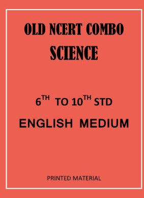 Science 6th to 10th class English MEDIUM