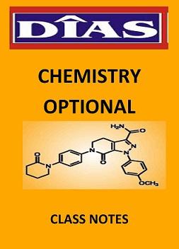 DIAS Chemistry Optional Classnotes