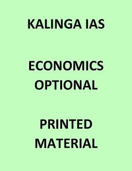 Kalinga IAS Economics printed notes