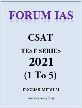 forum-ias-2021-csat-1-to-5-english-medium