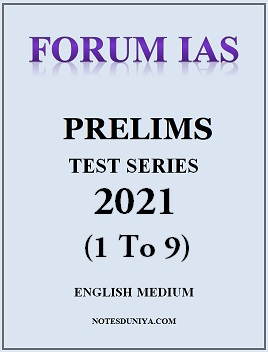 forum-ias-prelims-2021-test-series-1-to-10-english-medium