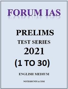 forum-ias-prelims-2021-test-series-1-to-30-english-medium