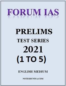 forum-ias-prelims-2021-test-series-1-to-5-english-medium