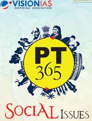 Vision IAS PT 365 Social issue