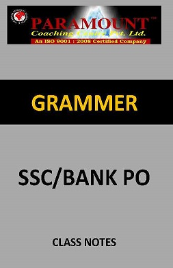 GRAMMER PARAMOUNT CLASS NOTES