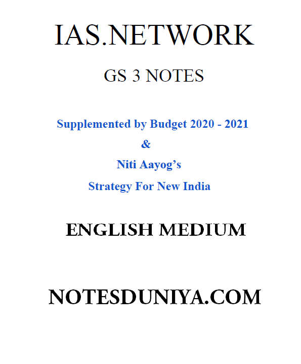 IAS network Full GS 3 printed notes