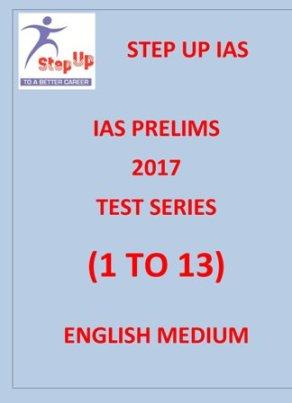 steup ias prelims 2017 test series 1 to 13