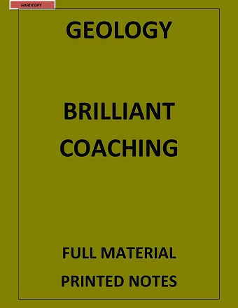 GEOLOGY OPTIONAL PRINTED NOTES BRILLIANT COACHING