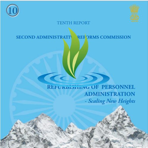 2nd ARC report set of 15 spiral bound booklets for IAS examination