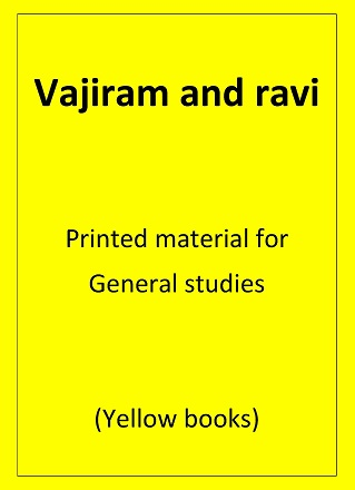 General Studies Printed notes Vajiram and Ravi