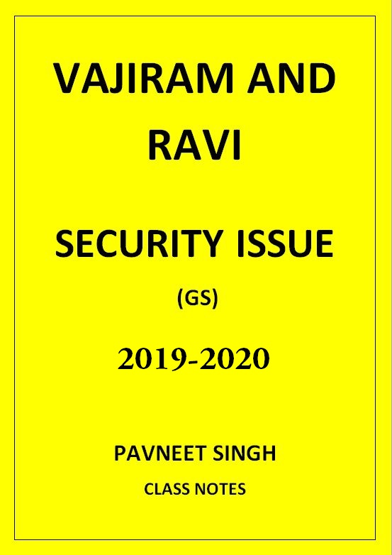 security-issues-pavneet-singh-vajiram-and-ravi-class-notes