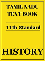 Tamil Nadu History Textbook 11th Standard