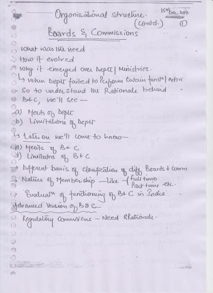 PUBLIC ADMINISTRATION OPTIONAL MOHANTY SIR SYNERGY HANDWRITTEN