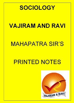 sociology-optional-printed-notes-by-vajiram-and-ravi-mahapatra-sir