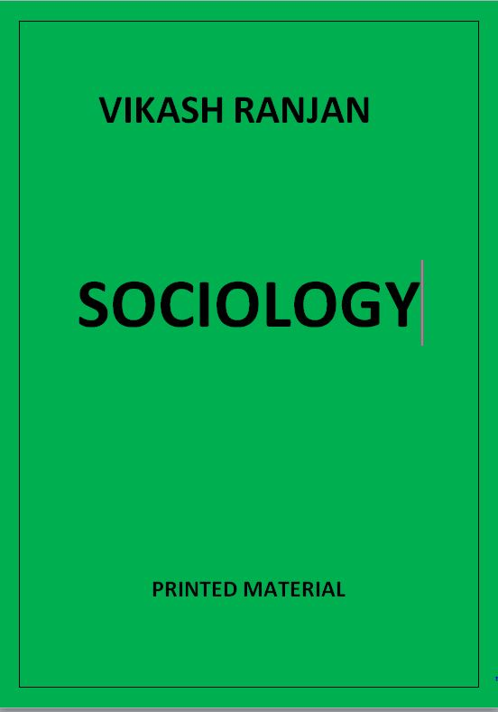 sociology-vikas-ranjan--printed-notes
